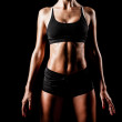 Sport woman body — Stock Photo #35177827