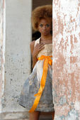 Cuban woman — Stock Photo