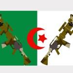 Постер, плакат: War in Algeria