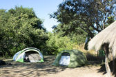 Camping tend — Stock Photo