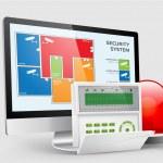 Access - Alarm zones — Stock Vector #45453815