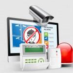 Access - Alarm zones — Stock Vector #45454055