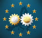 EURO - signs — Stock Vector
