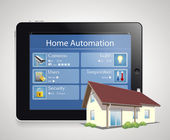 Home automation — Stock Vector