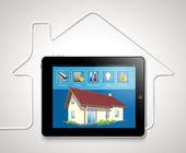 Automatización del hogar — Vector de stock