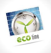 Chronomètre - temps eco — Vecteur