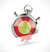 Stopwatch - Sport time — Vettoriale Stock