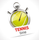 Stopwatch - Sport Tennis — Stock Vector
