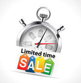 Stopwatch - limited time sale — Vettoriale Stock