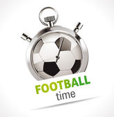 Stopwatch - Sport Football — Stockvector