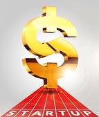 Dollar sign illustration — Stock Vector