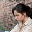 Young woman in despair — Stock Photo #21293893