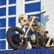 Motorcycle - skeleton — Stock Photo