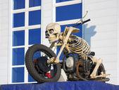 Motorcycle - skeleton — Stock Photo