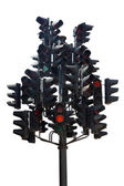 Multi traffic light — Stock Photo