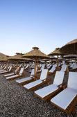 Pláž černá hora — Stock fotografie