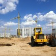 Stock Photo: Construction of buildings