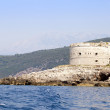 The island the fortress, Montenegro — Stock Photo