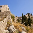 Ruins of old city fortress Kotor. — Foto de stock #22211221