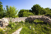 Ruins of the fortress — Stock Photo