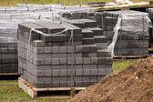 Construction tile — Stock Photo