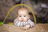 Criança pensativa — Foto Stock