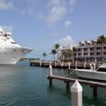 Key West Cruise Ship Port — Stock Photo