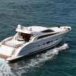 Upscale Cabin Cruiser — Stock Photo #12706538