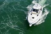 Luxus-sport-fischerboot — Stockfoto