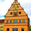 Centuries Old Building in Rothenburg - Stock Photo