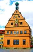 Hundra år gamla byggnaden i rothenburg — Stockfoto