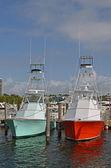 Sport Fishing Boats — Stock Photo