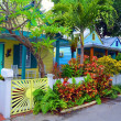 Key West Cottages - Stock Photo