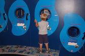 Long Distance Telephone Exhibit — Stock Photo