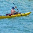 Kayaking on the Florida Inter Coastal Waterway - Stock Photo