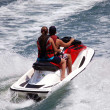 Two On a Jet Ski — Stock Photo