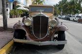 Antique American Automobile — Stock Photo