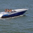 Power Speed Boat — Stockfoto
