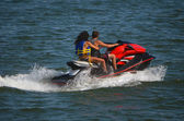 Jet Ski Twosome — Stock Photo