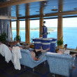 Thermal Room in an Upscale Cruise Ship Spa — Stock Photo