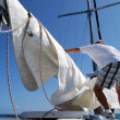 Unfurling Main Sail — Stockfoto #37299641