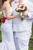 Bridal bouqet — Stock Photo