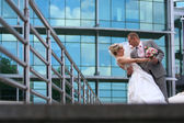 結婚式のカップル — ストック写真