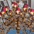 Stock Photo: Shining chandelier