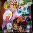 Dinner table — Stockfoto