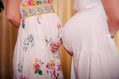 Linda gravidez — Fotografia Stock