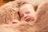 Baby sleeping — Stockfoto