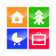Web Navigation Icons - Stock Photo
