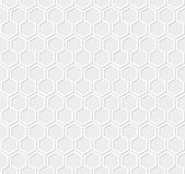 White honeycomb pattern — Stock Vector