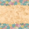 Vintage floral background — Stock Vector #13173010